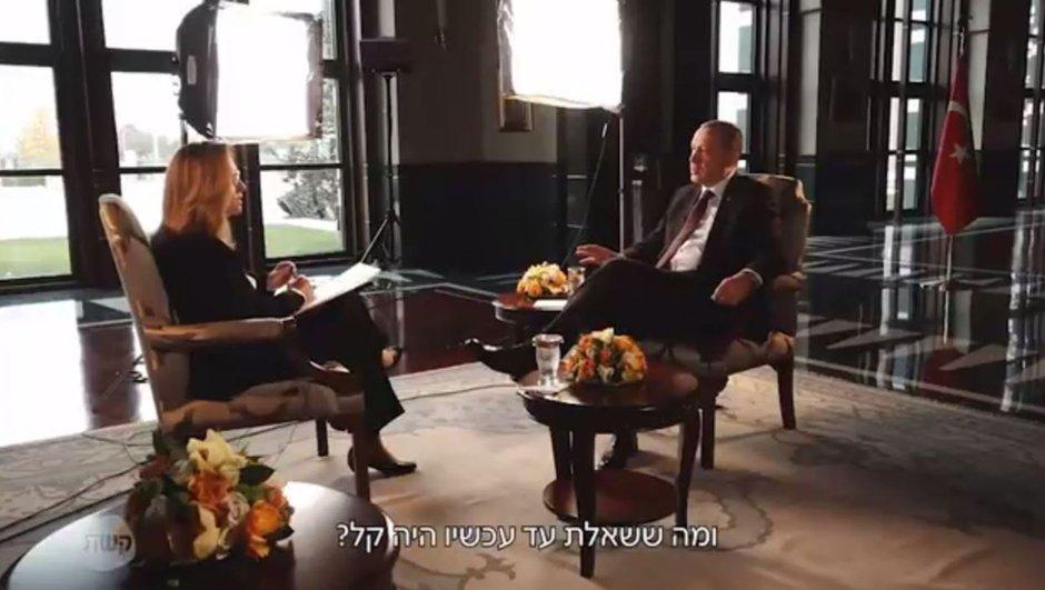 erdoğan israil tv