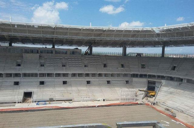 İşte Yeni Eskişehir Stadı...