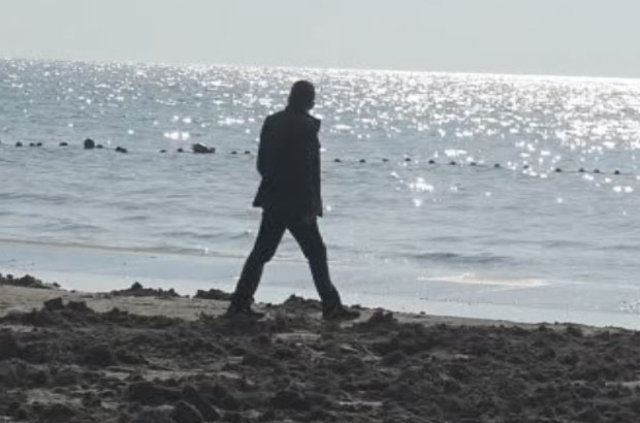 Tekirdağ Marmara Ereğlisi'nde deniz 15 metre çekildi