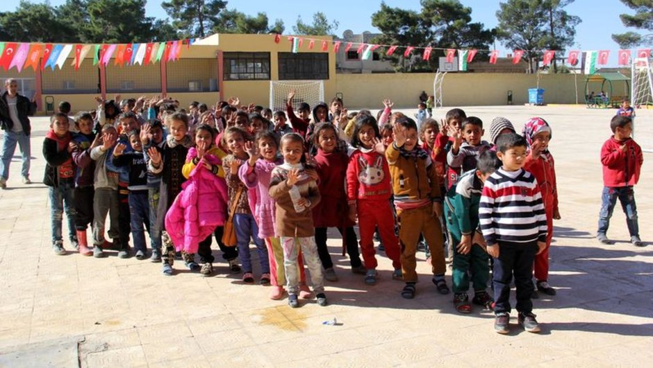 Suriye Cerablus AK Parti heyeti