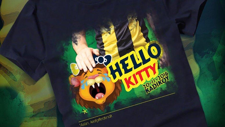 Galatasaray 'Hello Kitty' tişörtü