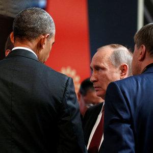 Obama ve Putin'den kritik görüşme