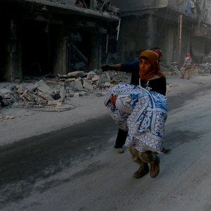 Halep'te misket bombalı saldırı