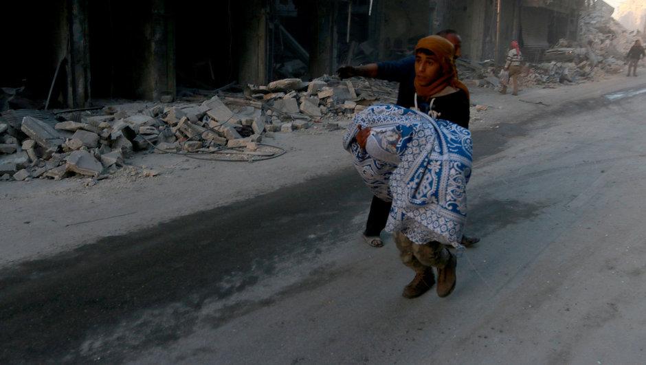 Halep misket bombalı saldırı yerleşim yeri