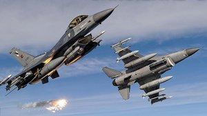 TSK: İki ayrı operasyonda DAEŞ ve PKK hedefleri vuruldu
