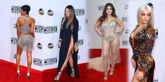 Amerikan Müzik Ödülleri'nde şıklık yarışı