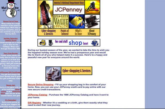 Ünlü markaların 90'lardaki komik internet siteleri