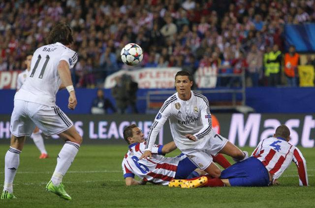 Koke'den Cristiano Ronaldo'ya küfür