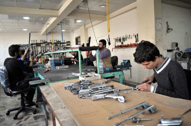 Türkiye'de ilk kez kalaşnikof 4140 üretiliyor!
