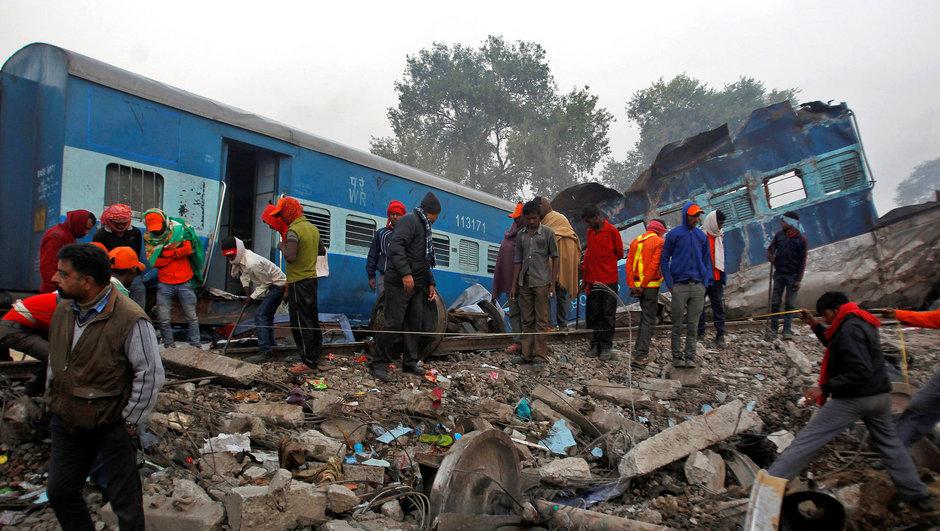 hindistan tren kazası