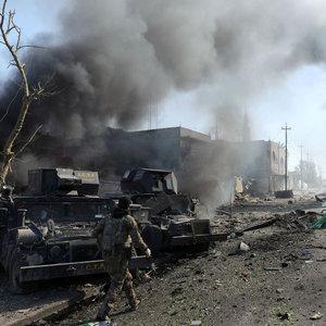 Musul'da şehir savaşı sürüyor