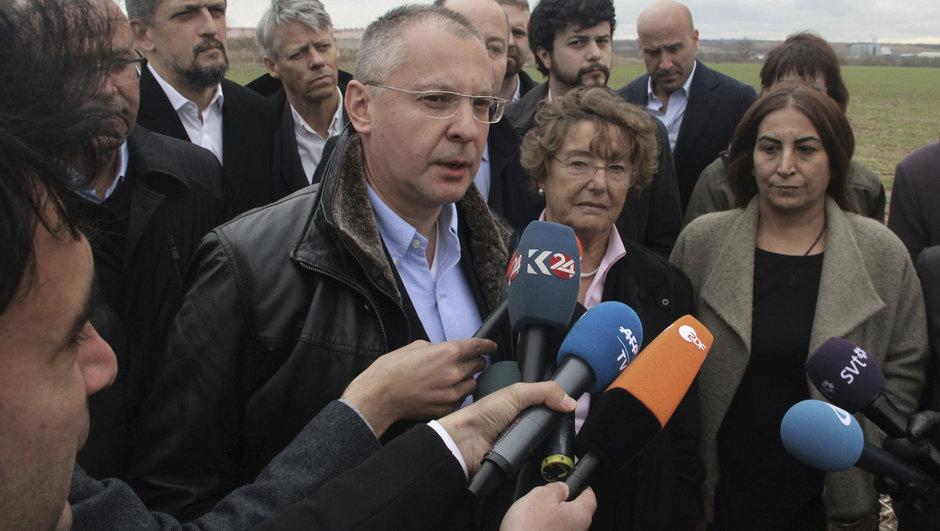 Avrupalı parlamenterler Cumhuriyet Gazetesi ziyaret