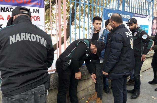 İstanbul uyuşturucu denetim