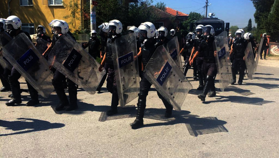 Ankara KHK protesto
