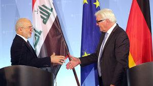 Alman Bakan Steinmeier, Iraklı mevkidaşı Caferi ile görüştü