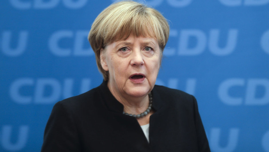 Angela Merkel Petro Poroşenko
