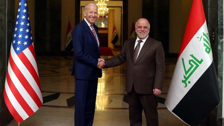 Haydar el-İbadi Joe Biden