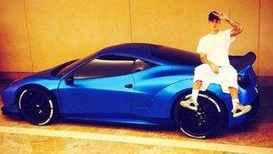 Justin Bieber Ferrari marka otomobilini kaybetti