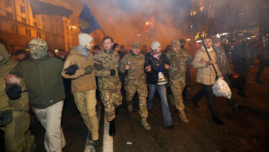 Ukrayna Kiev meydan olayları Siberbank yağmalama