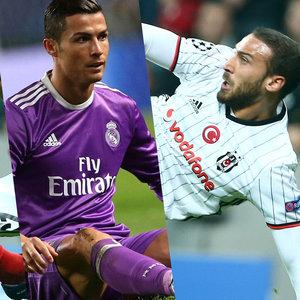 Cenk'in golünün ardından Ronaldo...
