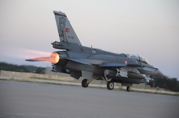 Turkish air force hits Daesh, PKK/PYD targets in Syria