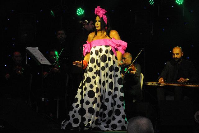 Bülent Ersoy Edirne'de konser verdi