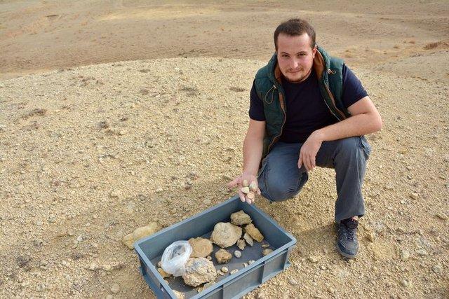 Kırşehir'de milyon yıllık deniz fosilleri bulundu