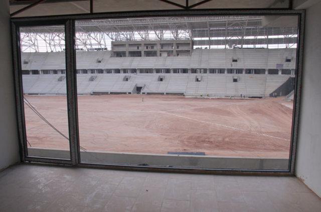33 bin kişilik Kocaeli Arena Stadı'nda sona yaklaşıldı