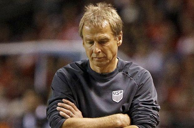 ABD ile Klinsmann yollarını ayırdı