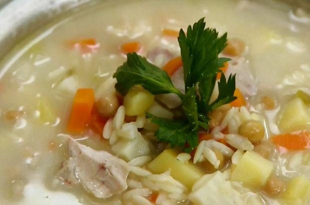 tavuklu nohutlu kereviz çorbası tarifi