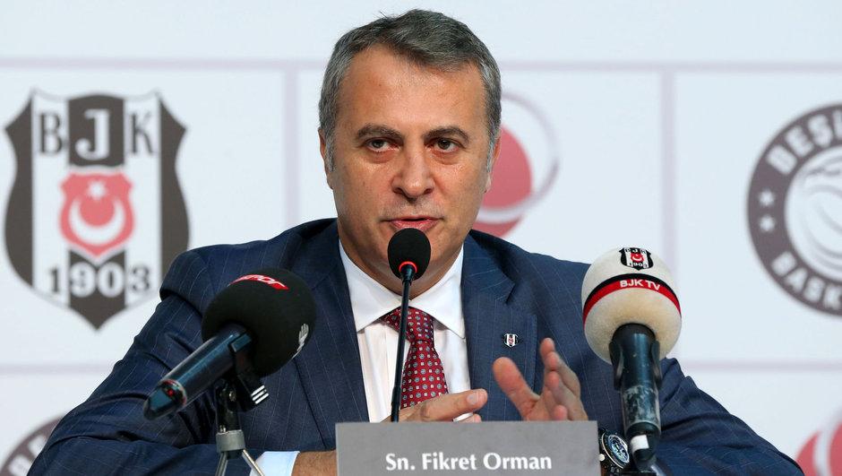 Fikret Orman Gökhan Töre Beşiktaş