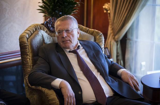 Vladimir Jirinovski Ankara Melih Gökçek