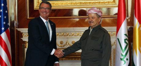 Barzani ve Carter görüşmesinde Musul konuşuldu