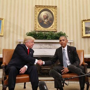 Obama ve Trump görüştü