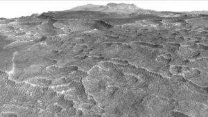 Mars'ta ABD'nin en büyük gölü büyüklüğünde buz kütlesi bulundu