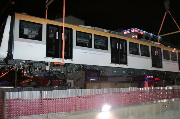 Üsküdar ile Çekmeköy metrosu