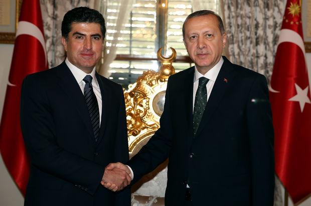 IKBY Başbakanı Barzani Ankara'da