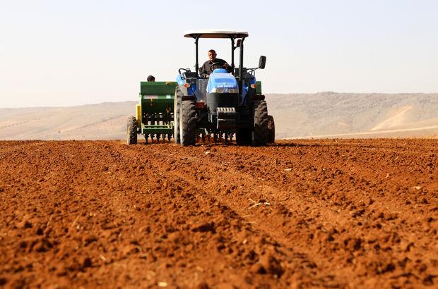 Şanlıurfa ovalar koruma altında çiftçi