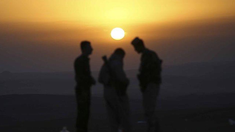 Irak İbadi Haşdi Şabi Telafer