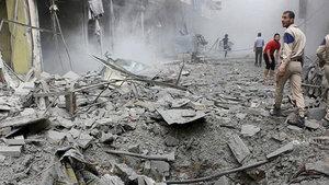 Suriye rejimi geri püskürtüldü