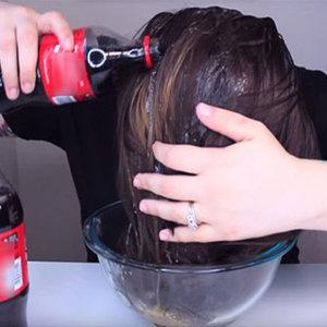Eğer saçlarınızı kola ile yıkarsanız...