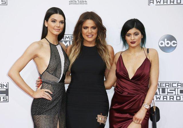Kylie Jenner coşuyor