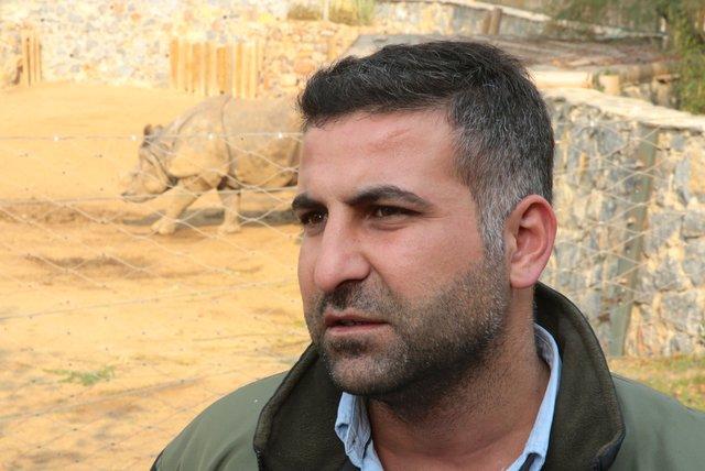 Darıca'daki gergedan Samir'e eş getirildi