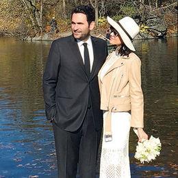 New York'ta evlendiler
