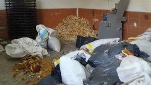 Esenyurt'ta çöpten toplanan ekmeklerle pasta yapıldığı tespit edildi