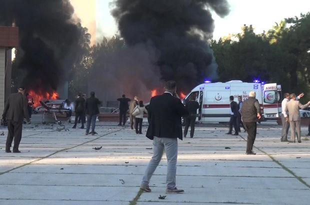 SON DAKİKA! Adana Valiliği otoparkında patlama meydana geldi! Ölü ve yaralılar var...