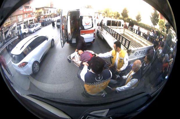 Denizli otobüs şoförü baygınlık geçirdi hastaneye
