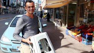 Antalya'da 10 TL'lik tabureye 412 TL'lik ceza