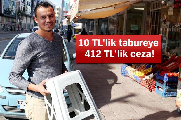 Antalya tabure ceza