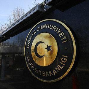 Dışişlerin'den Irak'taki saldırıya kınama